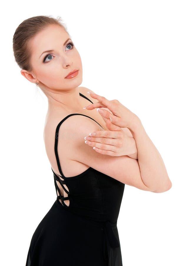 Woman ballerina ballet dancer royalty free stock images