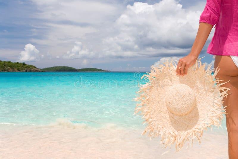 Download Woman Beach Stock Photo - Image: 12423030
