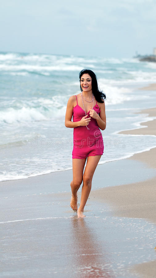 Download Woman at the Beach stock photo. Image of fashion, adult - 26430220