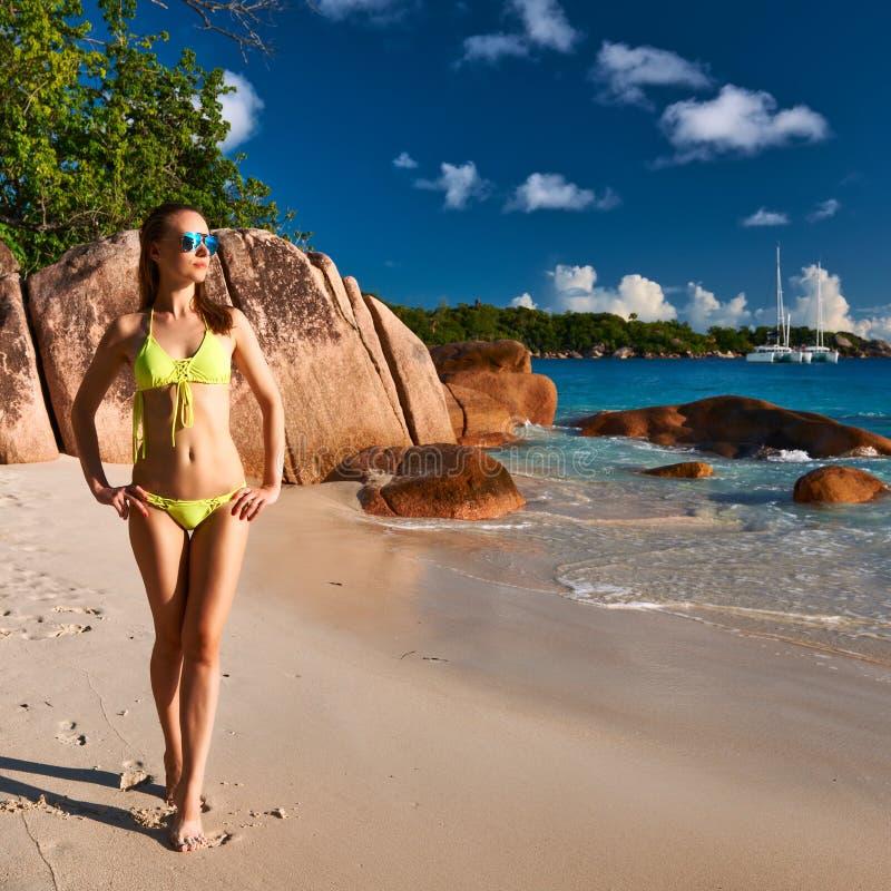 Download Woman at beach stock image. Image of idyllic, resort - 41878933