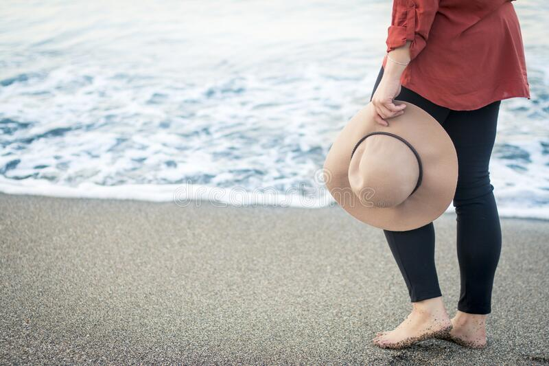 Woman On A Beach Free Public Domain Cc0 Image