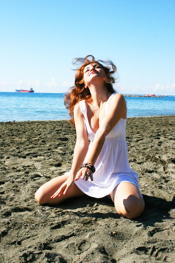 Download Woman On Beach Royalty Free Stock Image - Image: 31756976