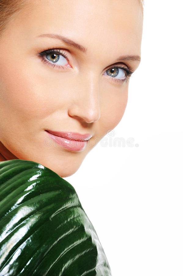 Download Woman With Beautiful Fresh Clear Skin Stock Photo - Image: 11736888