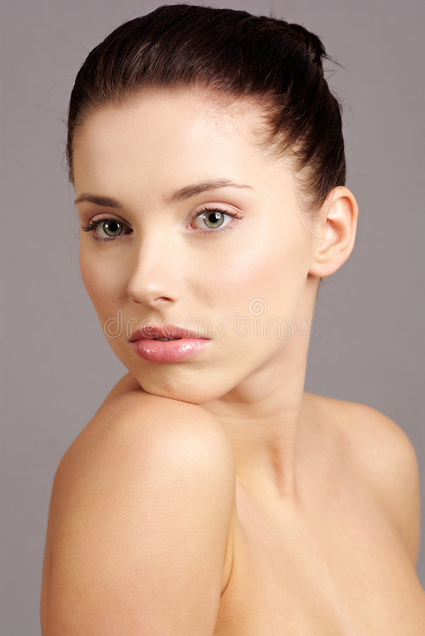 Woman and beauty stock photography