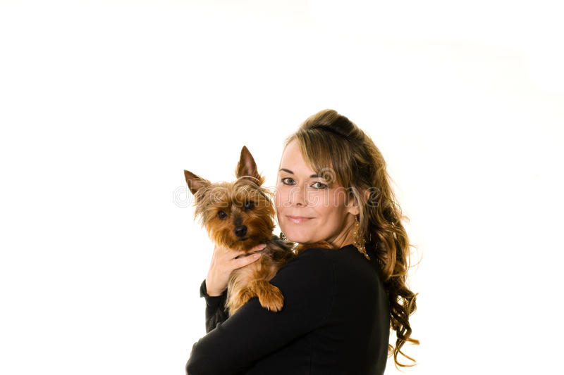 Woman best friend royalty free stock photography