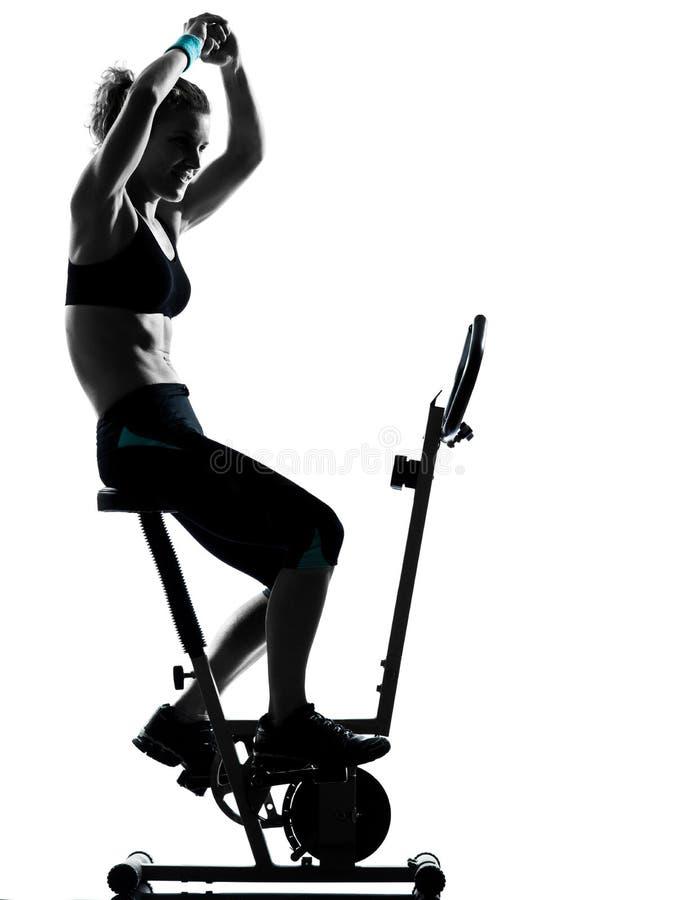 Download Woman Biking Workout Fitness Posture Stock Photo - Image: 24656366