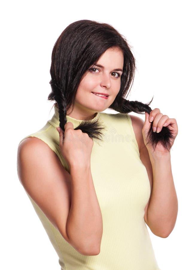 Download Woman Bite Lip Stock Image - Image: 26925261