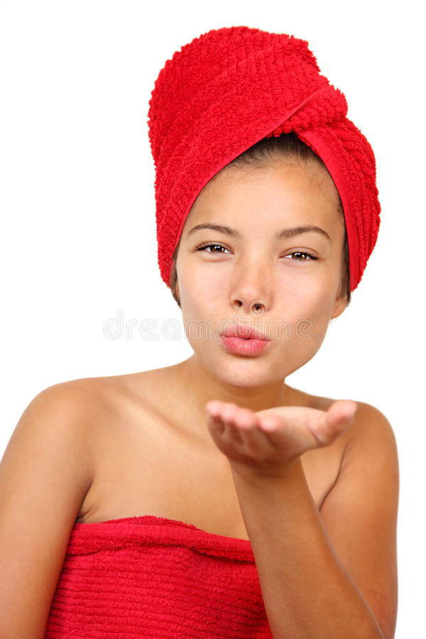 Download Woman Blowing Kiss Stock Images - Image: 11512364