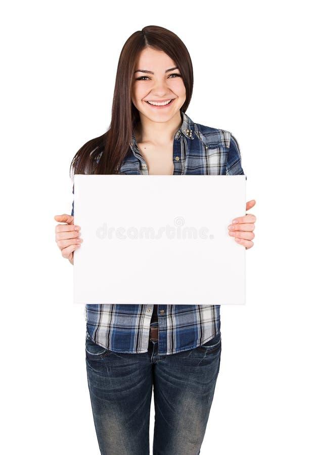 Woman board royalty free stock image
