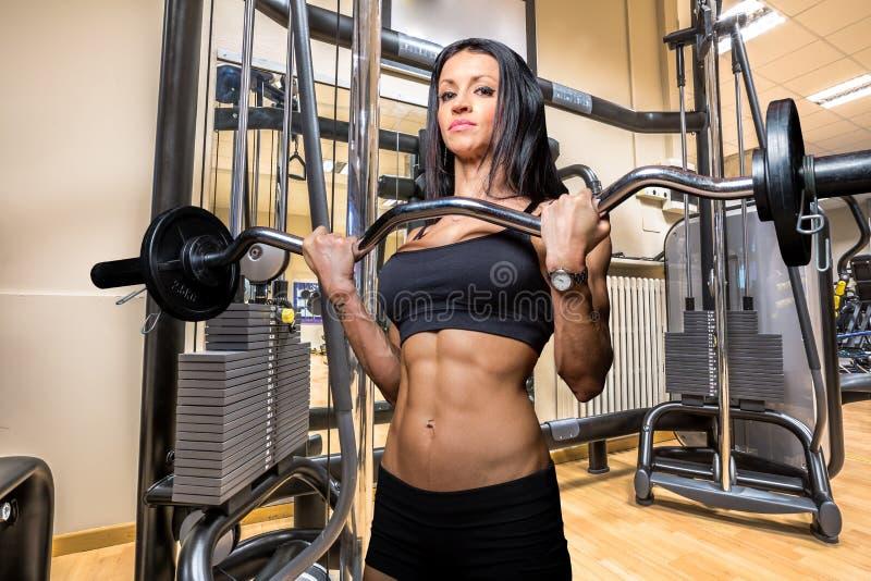 Bodybuilder Woman stock photography