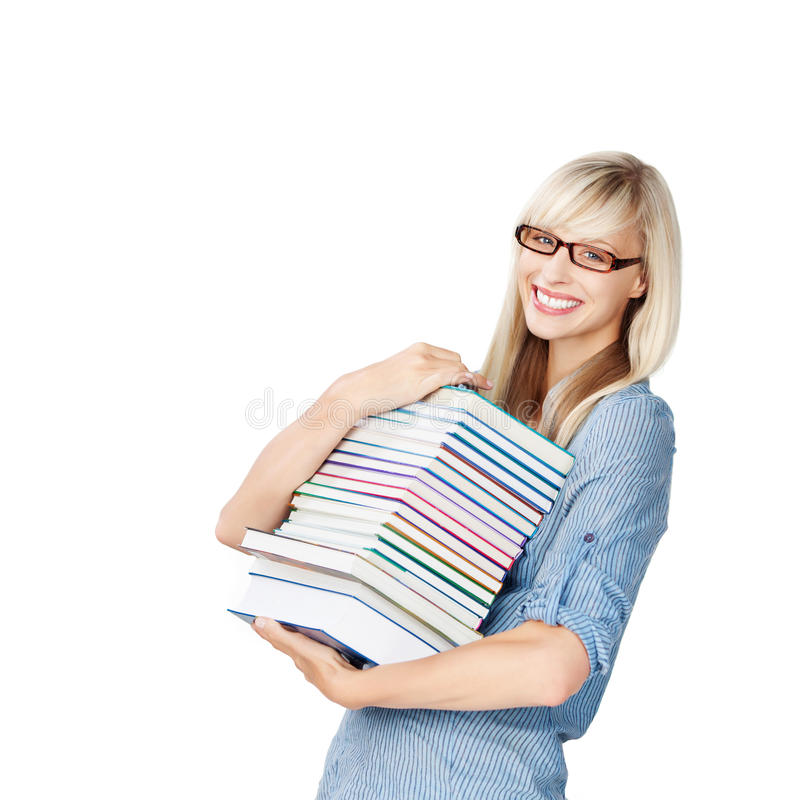 Download Woman With Books Stock Photography - Image: 31187932