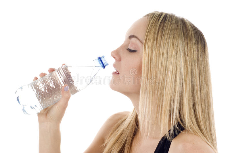 Download Woman With A Bottle Of Water Stock Photo - Image: 14741992
