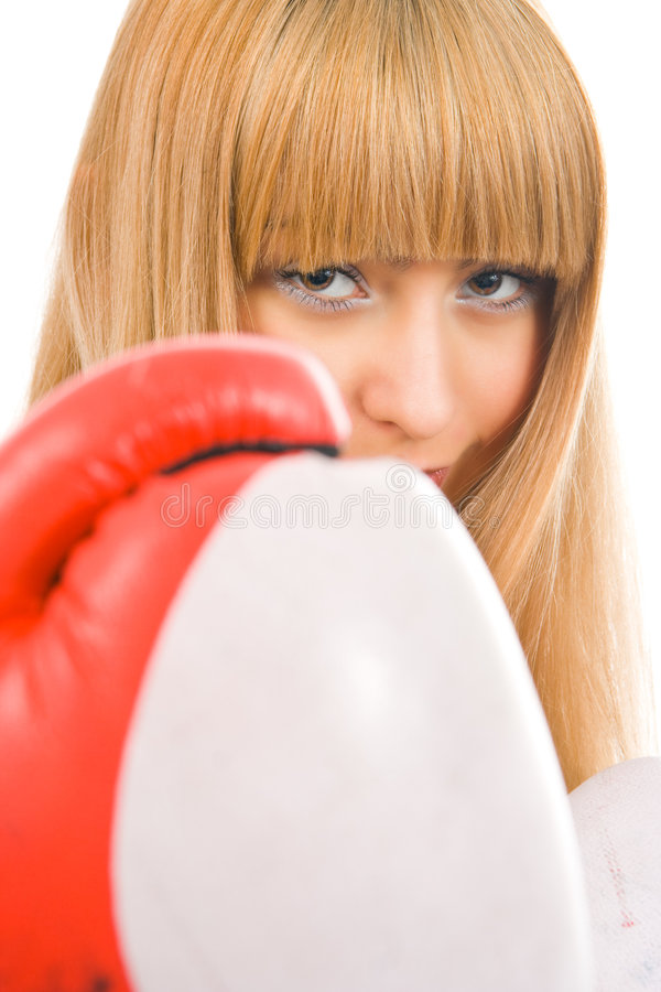 Download Woman boxer stock image. Image of active, body, boxing - 4122051