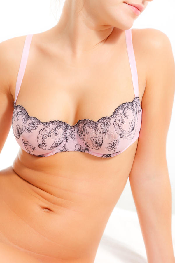 Download Woman Breast In Bra Stock Photos - Image: 20676593