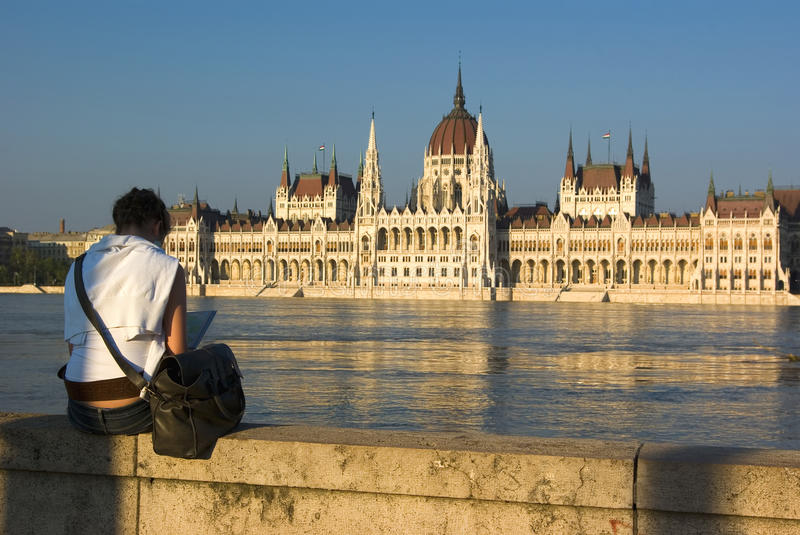 Download Woman In Budapest Stock Photos - Image: 14695503