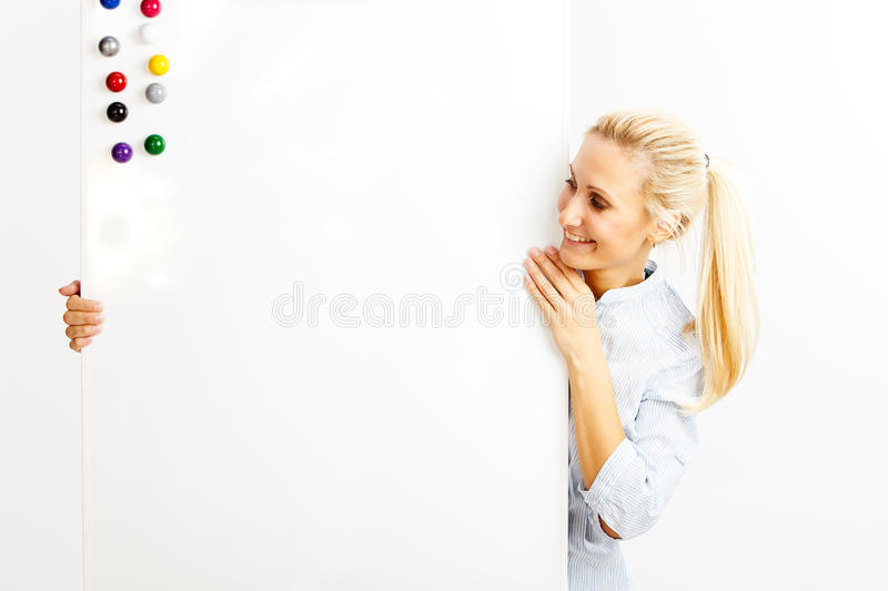 Woman in business royalty free stock images