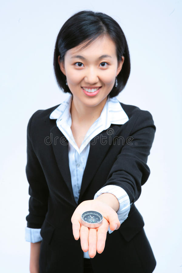 Woman in Business IV royalty free stock image