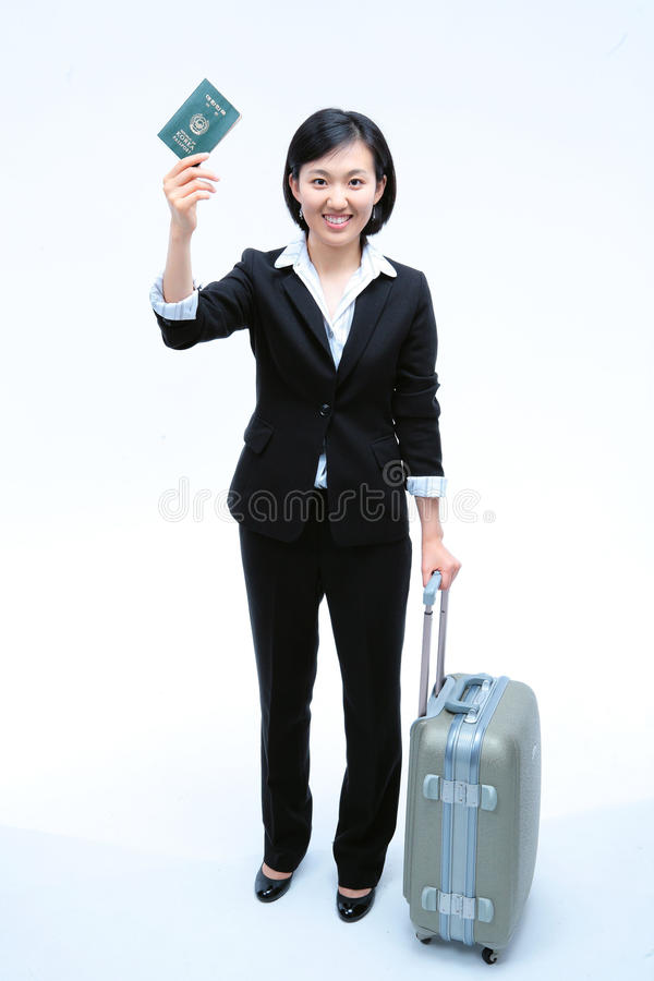 Woman in Business IV. Asian Ethnicity royalty free stock photos