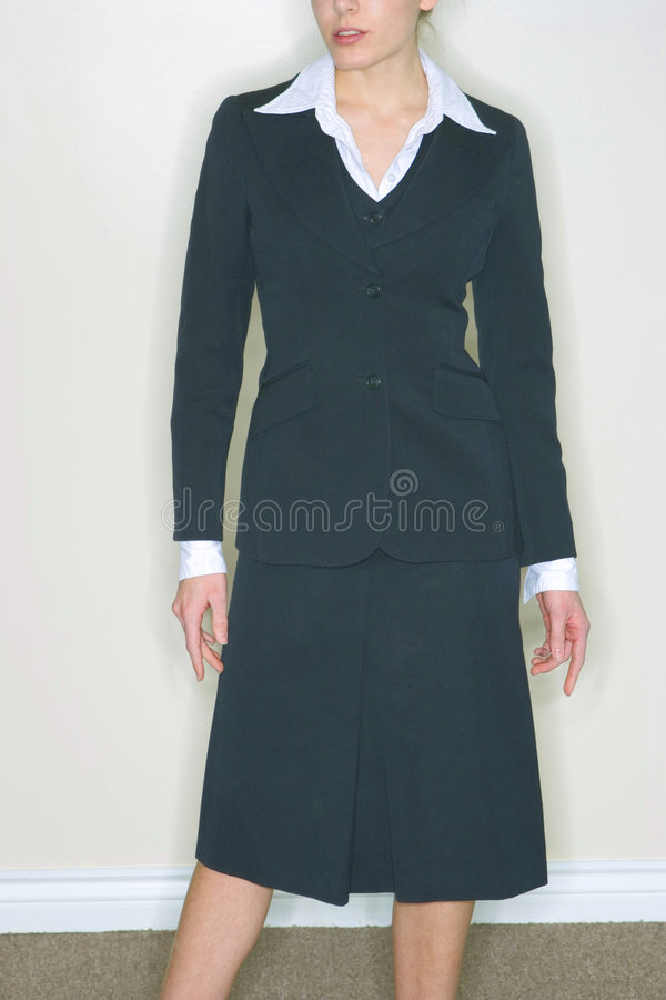 Woman in Business Suit stock image