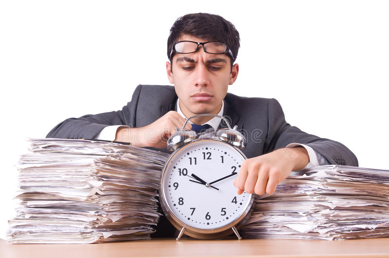 Download Woman businessman stock photo. Image of clock, employee - 32218648