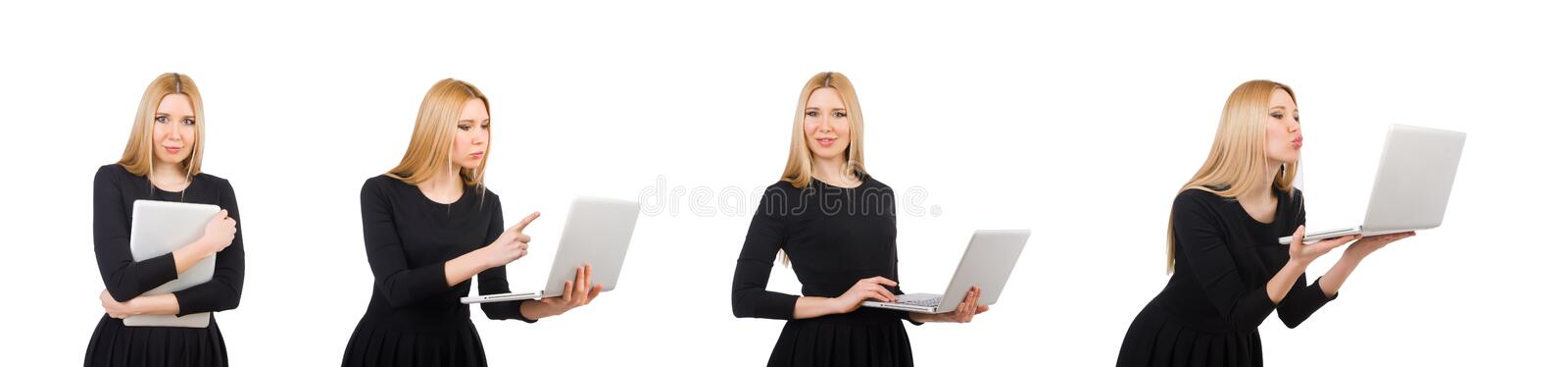 Woman businesswoman in business concept royalty free stock photo