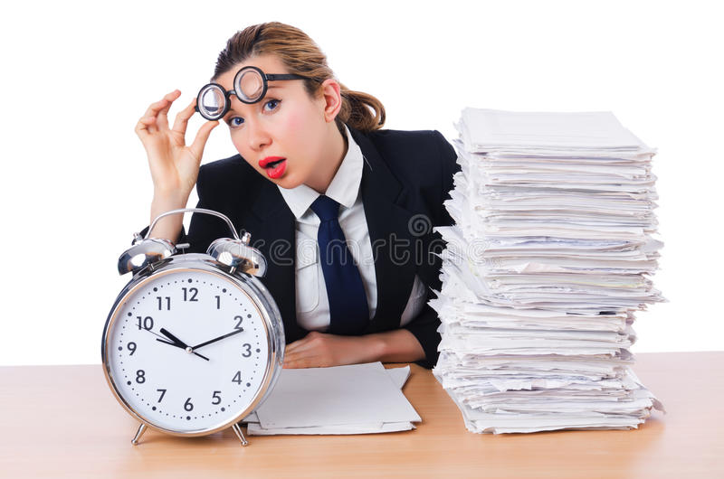 Download Woman businesswoman stock photo. Image of isolated, file - 30219948