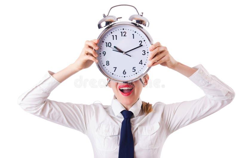 Download Woman businesswoman stock image. Image of alarm, alarm - 30095339