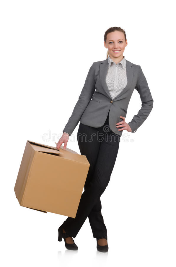 Download Woman businesswoman stock photo. Image of distribution - 42202720