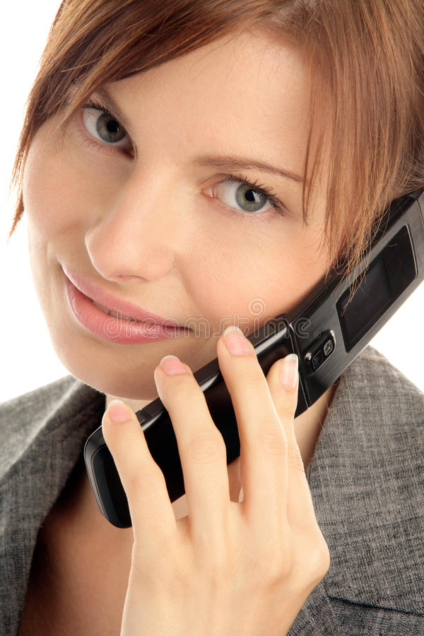 Free Woman Calling By Cellular Phone Stock Photos - 11133693