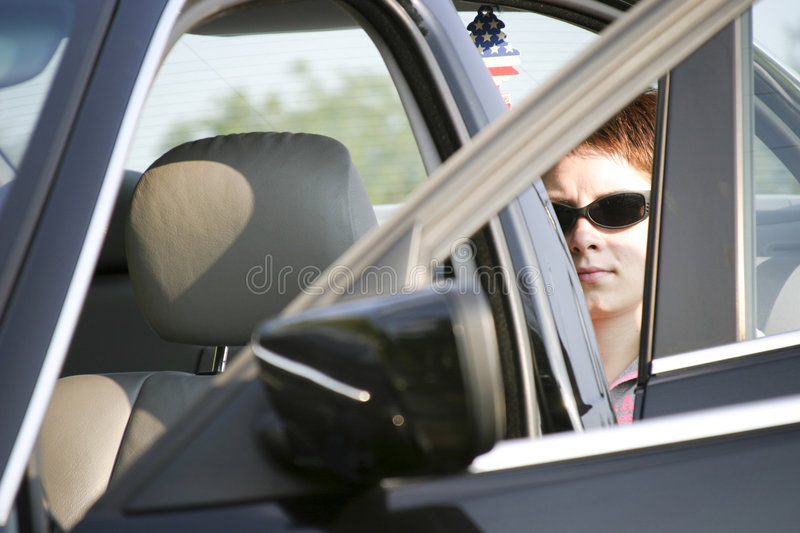 Download Woman in car stock photo. Image of sober, auto, caucasian - 2835326