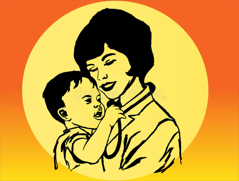 Woman And Child Royalty Free Stock Image