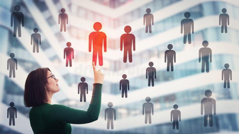 Human resources management stock photos