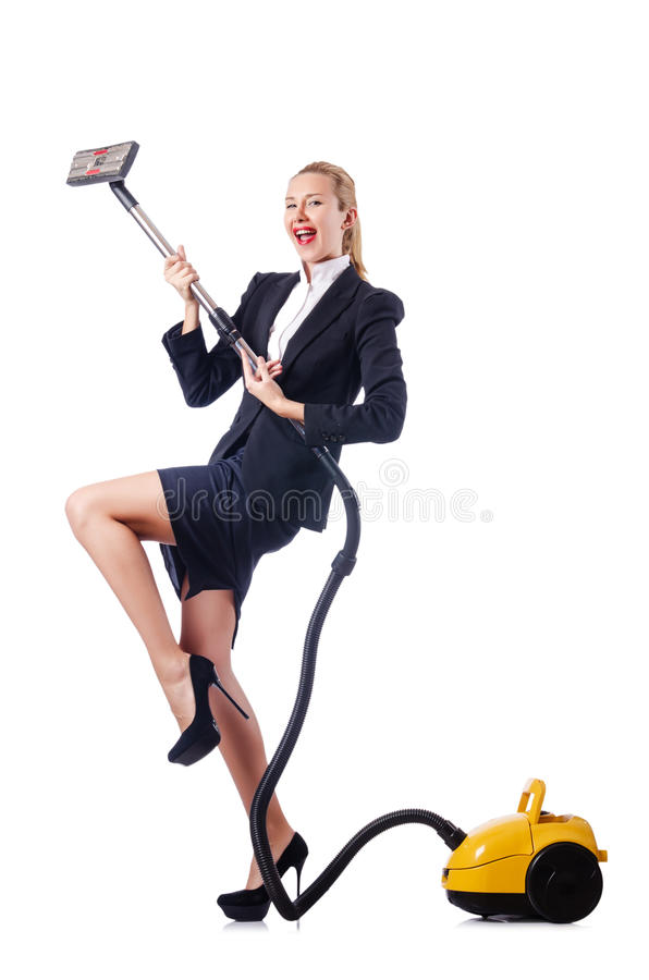 Download Woman Cleaning With   Cleaner Stock Images - Image: 26480314