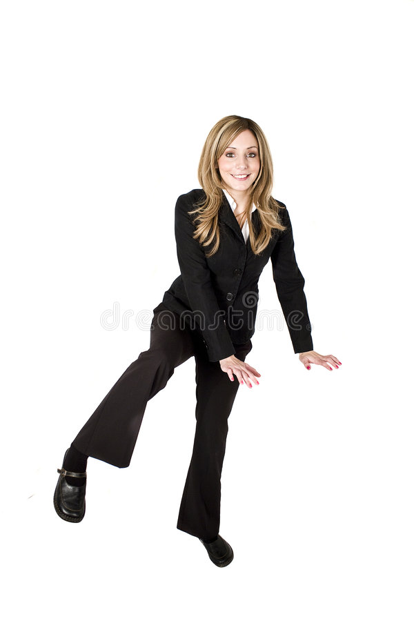 Free Woman Climbing Stock Photos - 8241413
