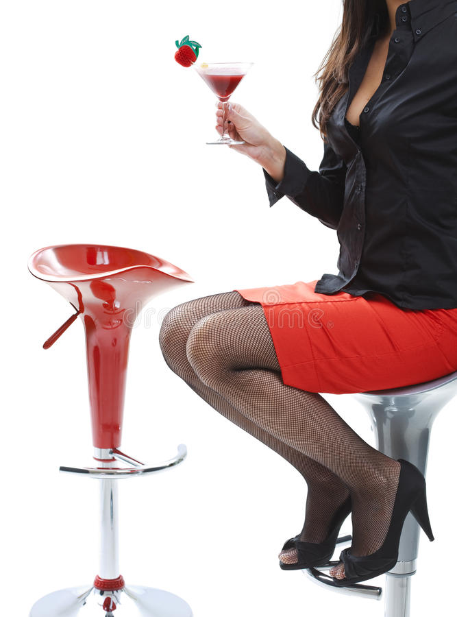 Download Woman With Cocktail Stock Photography - Image: 11085372