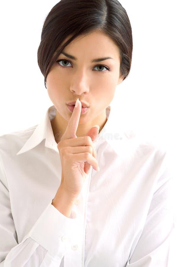 Woman communication royalty free stock photo