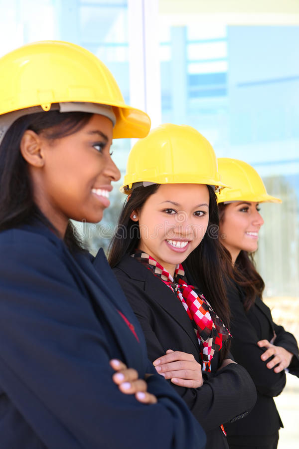 Download Woman Construction Team stock photo. Image of building - 14651034