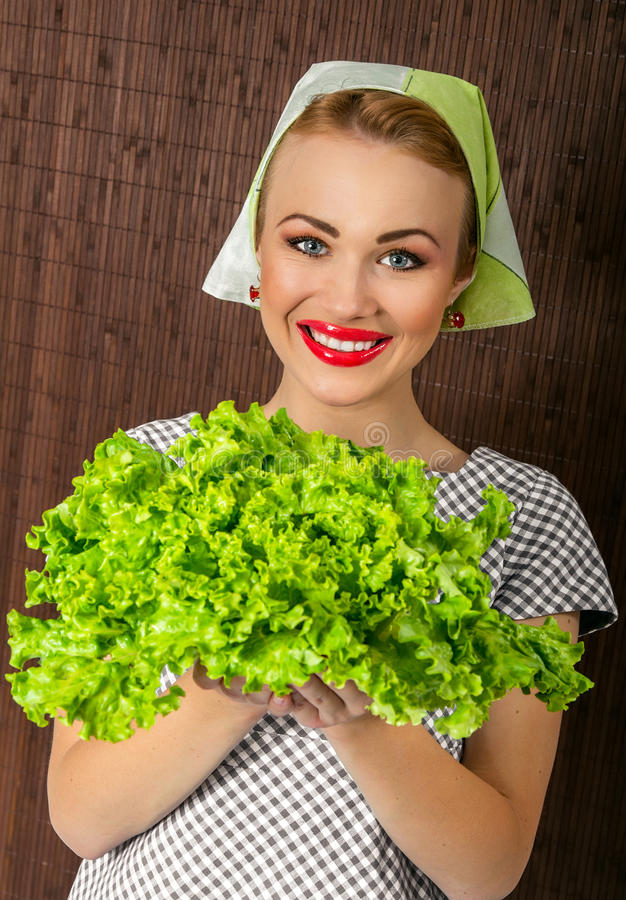 Download Woman cook stock photo. Image of smile, wife, smiling - 27705322