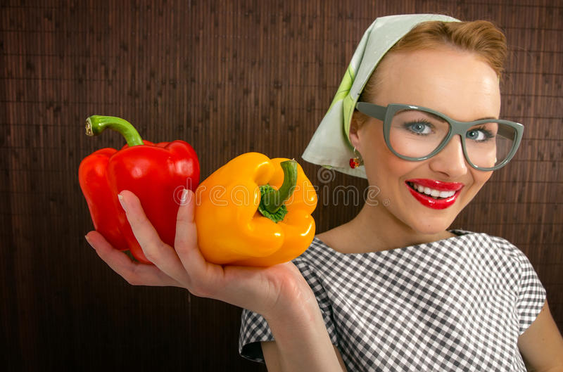 Download Woman cook stock photo. Image of facial, cooking, girl - 27705392