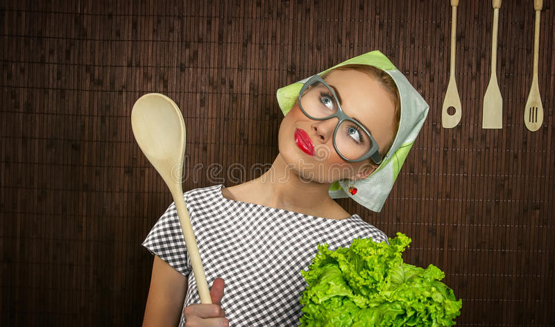 Download Woman cook stock image. Image of housewife, culinary - 28461673