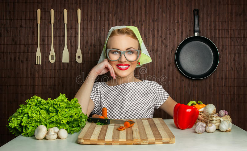 Download Woman Cook Royalty Free Stock Image - Image: 28588276