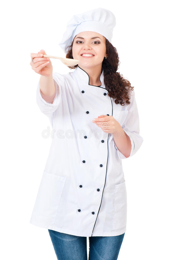 Download Woman cook stock image. Image of girl, female, appetite - 38412053