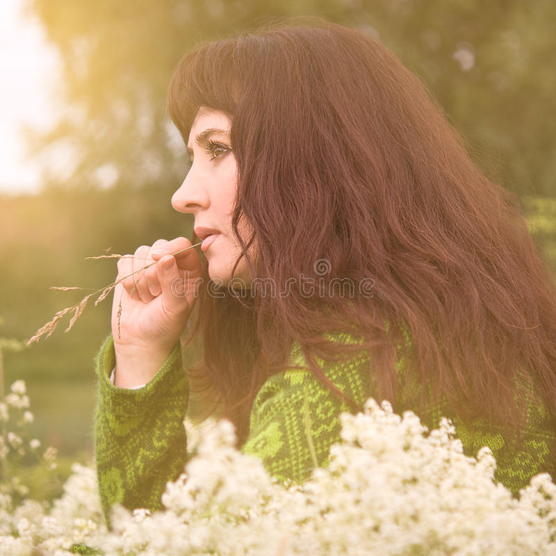 Woman. stock photography