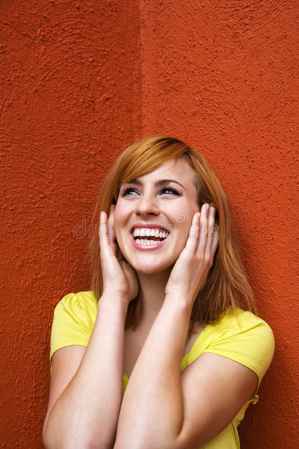 Woman Covering Ears Royalty Free Stock Images