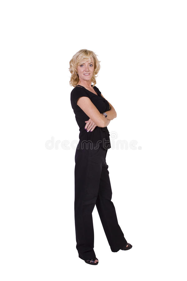 Download Woman With Crossed Arms Posing At Camera Stock Photos - Image: 16622333