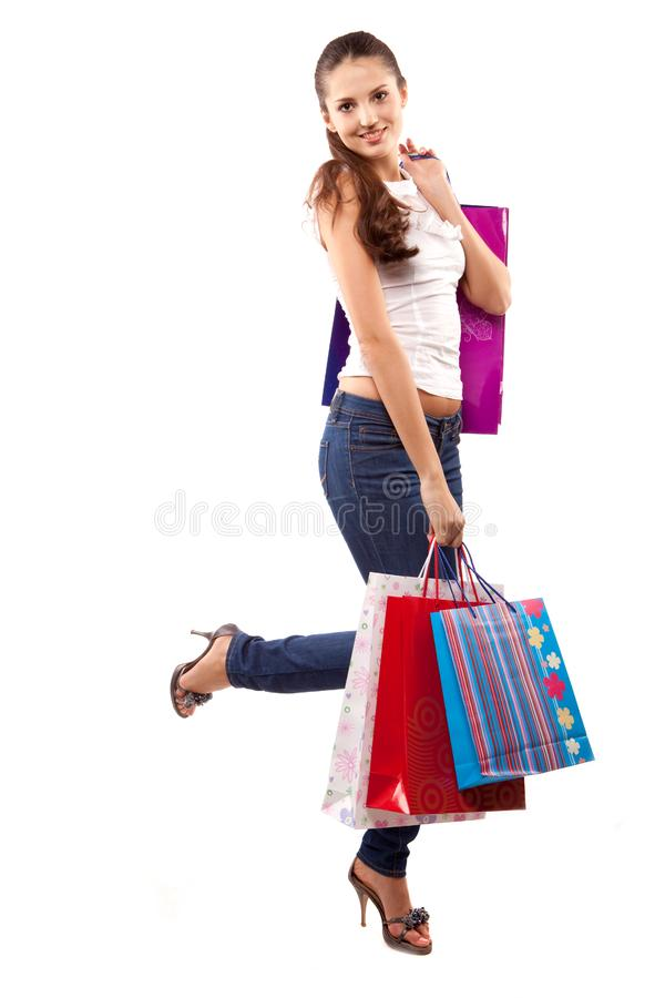 Download Woman customer stock photo. Image of female, standing - 14583064