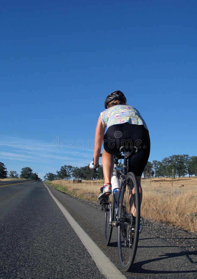 Download Woman Cycling stock photo. Image of multisport, dual, girl - 2978848