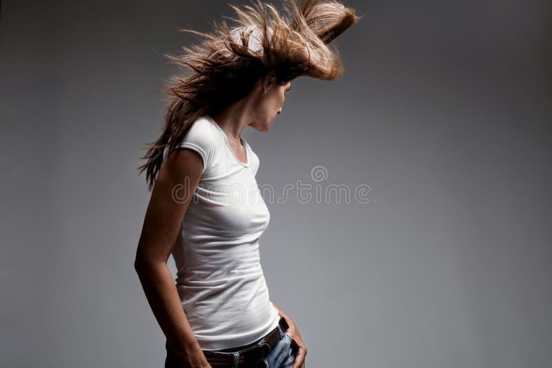 woman dance royalty free stock photo