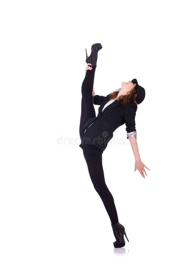 Download Woman dancer dancing stock image. Image of acrobat, motion - 32923423
