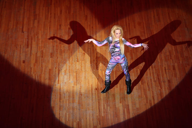 Woman Dances At Hip Hop International Cup Editorial Photography